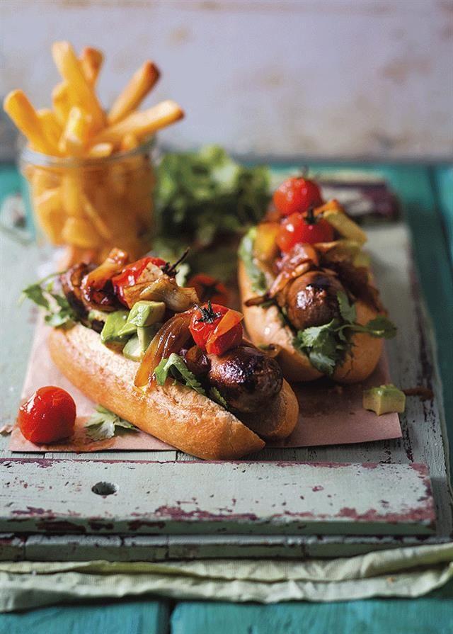 Hot dogs #Braai