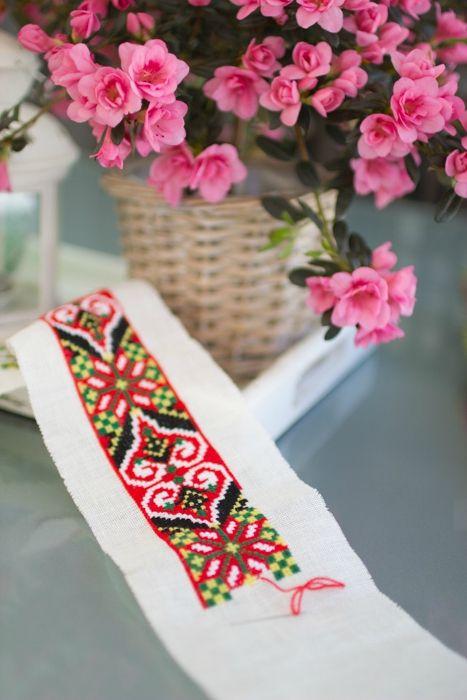 Nordhordaland belt fot bunad Embroidery