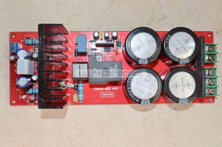 44.50$  Watch more here  - YJ-IRADUD550 IRS2092 Class D Amplifier Board 700W 4ohm/350W 8ohm Speaker Protection