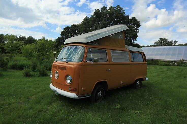 VW Van for Sale. 1972 Camper Van. My grandparents had one of these. They flew to Germany to pick it up, as one did in 1972.