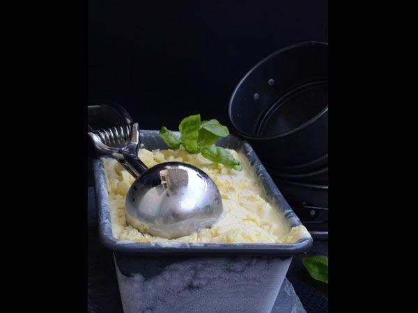 Homemade Delicious Mango Ice Cream