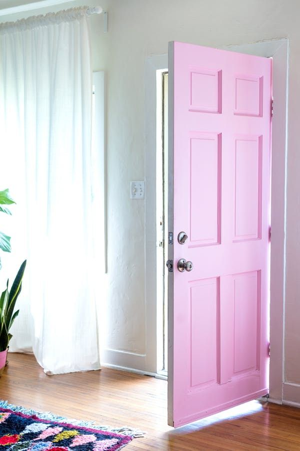 Here are nine unconventional ways to add a little rosy color to your home.