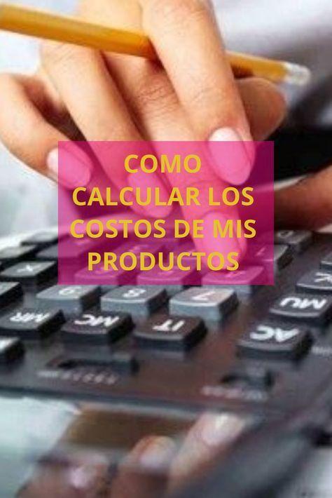 Cómo calcular el precio de mis productos – #calcu…