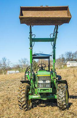 heavy-equipment: John Deere 6400 Ag Utility MFWD Tractor with 640 loader #HeavyEquipment - John Deere 6400 Ag Utility MFWD Tractor with 640 loader...
