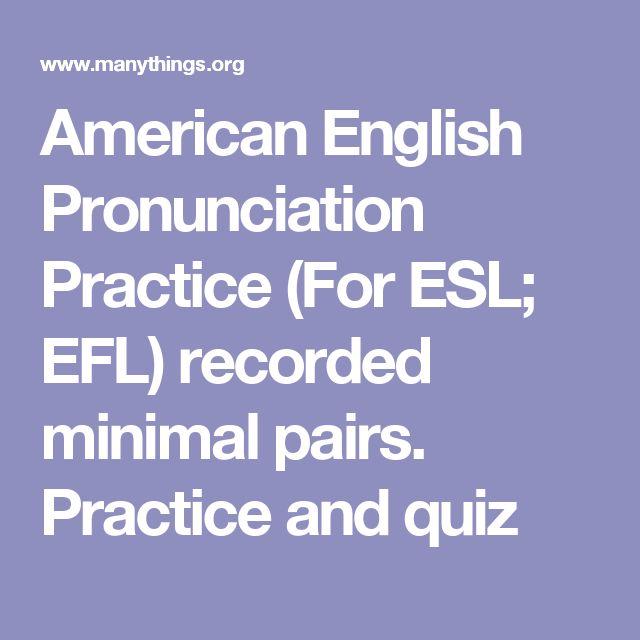 good pronunciation in english pdf