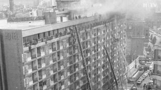HOTEL CORONA DE ARAGÓN, VÍDEO de los protagonistas del incendio.