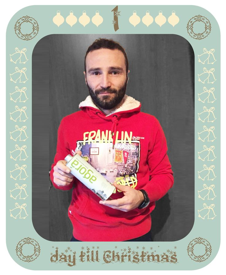 Have a holly jolly Christmas!! Dimitris Salpingidis is counting down till Christmas! 1 day left..