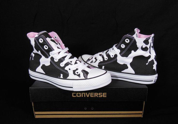 Converse Cow prints All Star Chuck Taylor Black & White Kicks / Sneakers