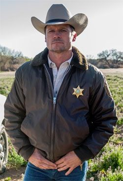 Bailey....Branch Connally  #Longmire