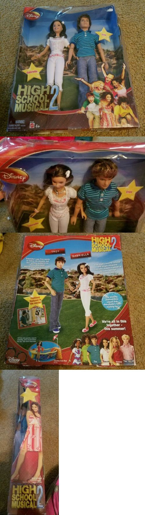 High School Musical 158764: 2007 *New* Nib High School Musical 2 Together At Last Gabriella And Troy 10 Doll -> BUY IT NOW ONLY: $37.99 on eBay!