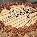 Le Moka (recette CAP)  Creme au beurre et recette biscuit genoise