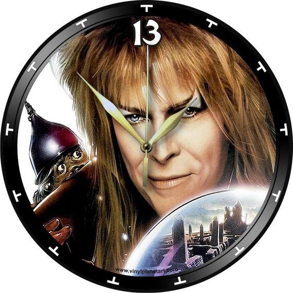 Horloge Vinyle décoration DAVID BOWIE Labyrinth