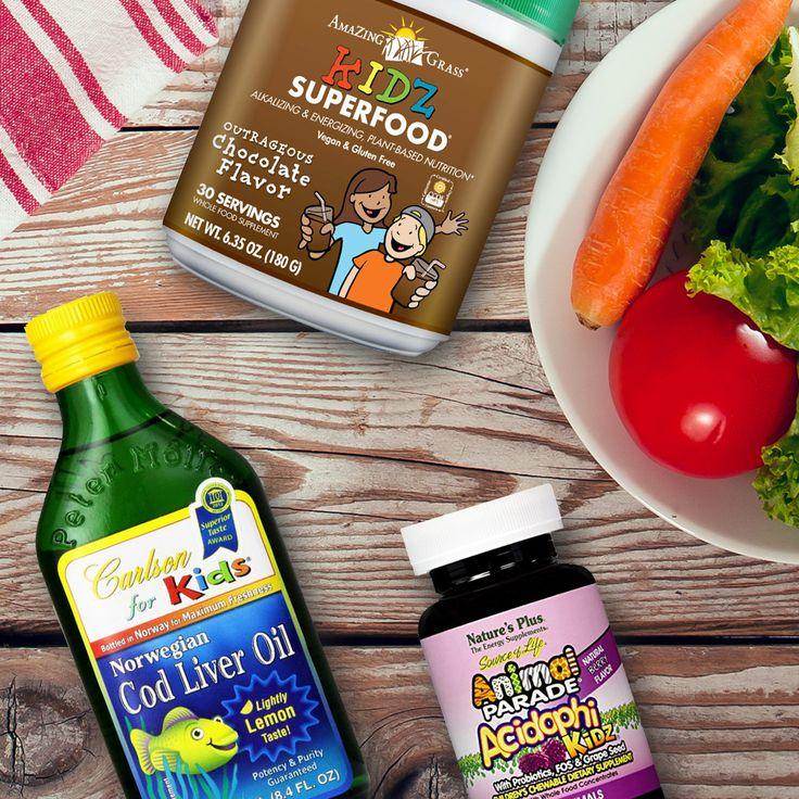 Ιχθυέλαιο, βιταμίνες & Υπερτροφές για παιδιά.