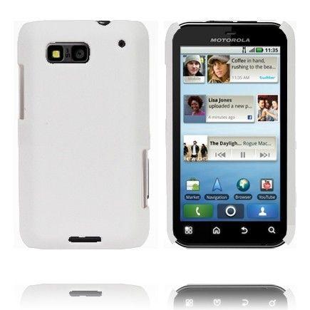 Hard Shell (Hvit) Motorola Defy Deksel