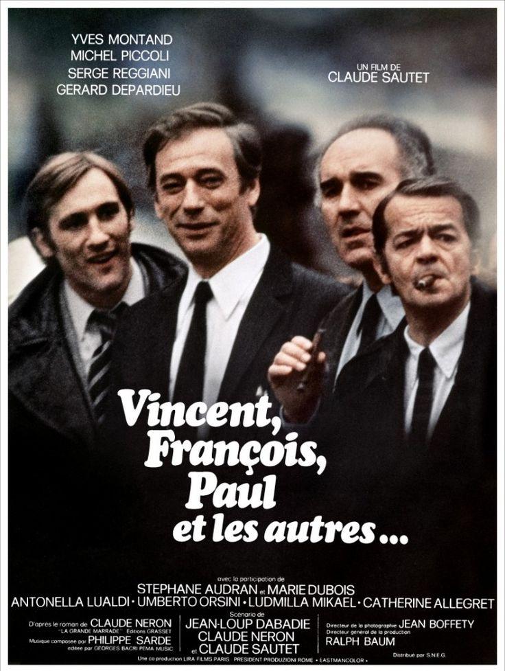 Vincent, François, Paul... et les autres - Serge Reggiani - Yves Montand - Michel Piccoli - Gérard Depardieu