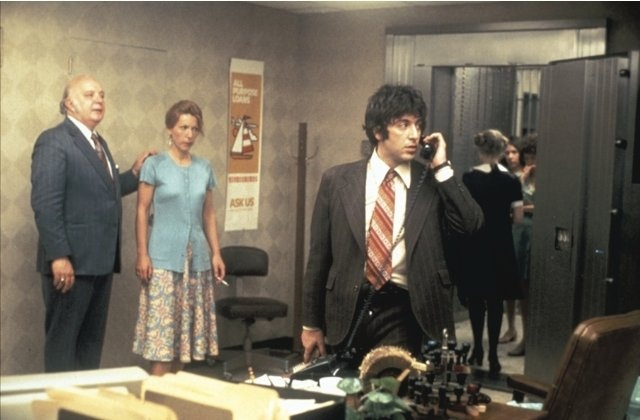 Al Pacino, Penelope Allen and Sully Boyar in Dog Day Afternoon