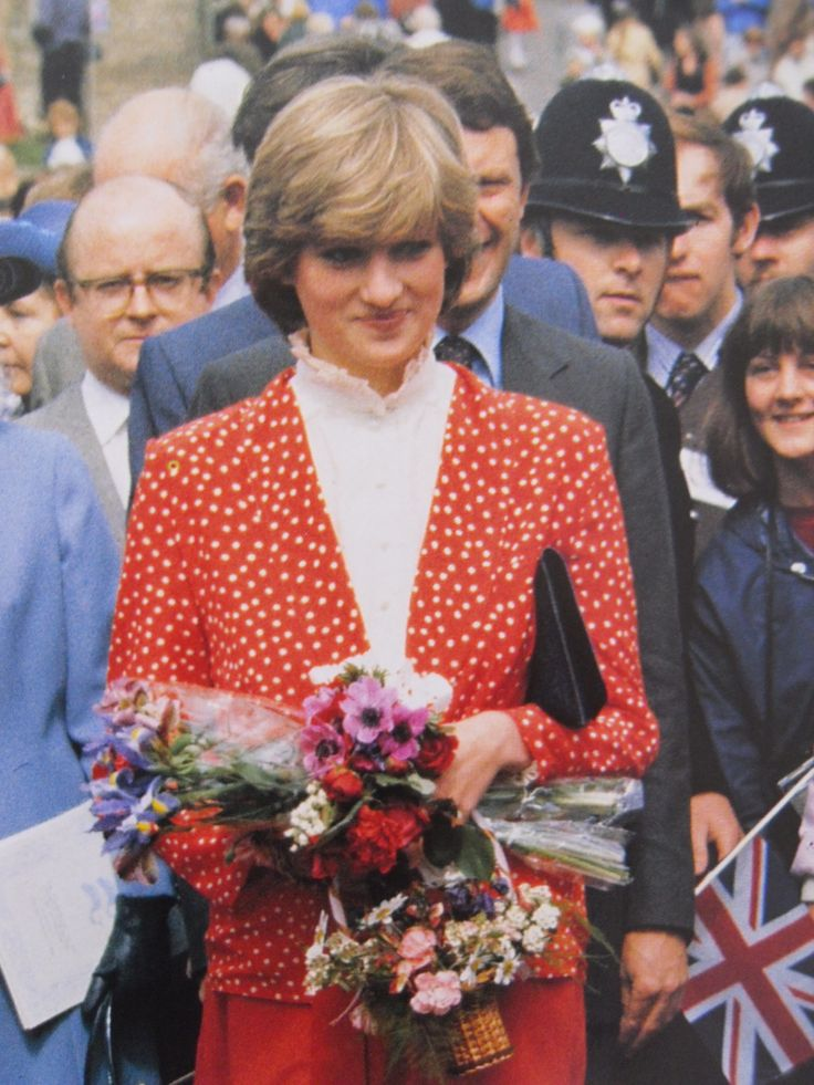 May 22, 1981: Lady Diana Spencer during their visit to Tetbury, Gloucestershire.