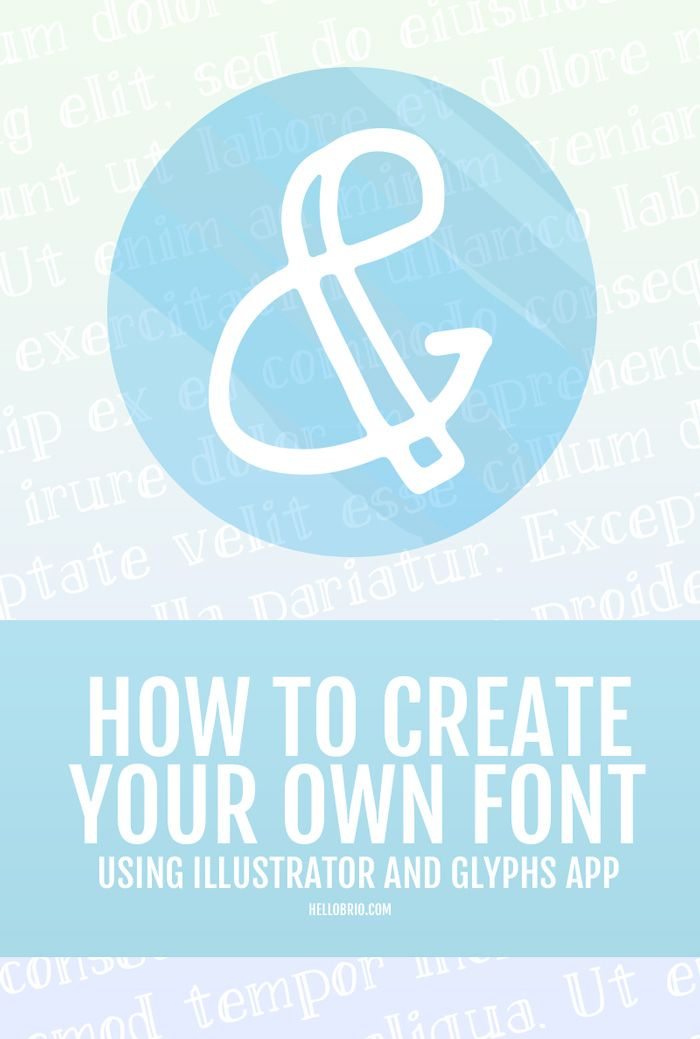 Best 25 Create Your Own Font Ideas On Pinterest Creative Fonts Free Typography Fonts And