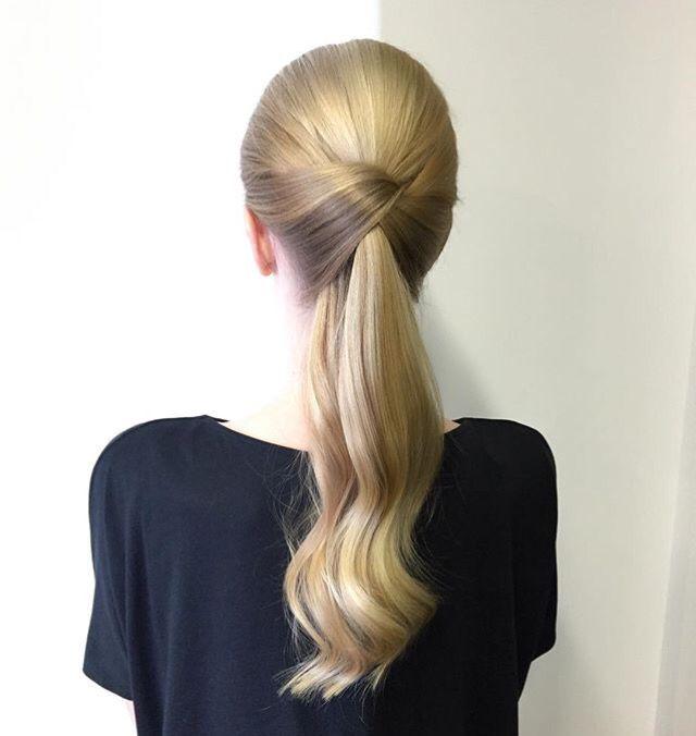 Elegant Ponytail Remingway Pinterest Elegant Ponytail Hair