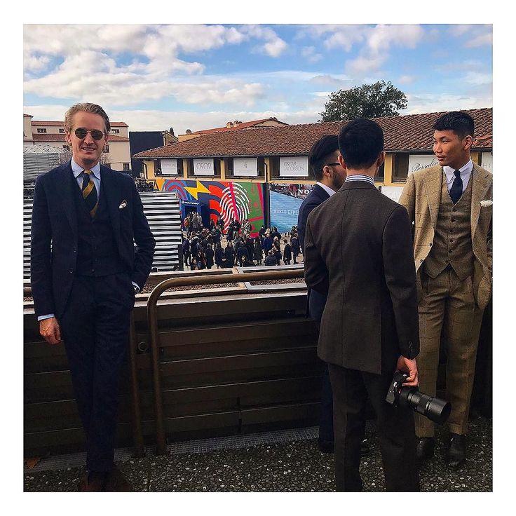 Colleague Raoul @pittimmagine #pitti #pittiuomo #pitti93 #firenze #florence #italy #italia #menswear