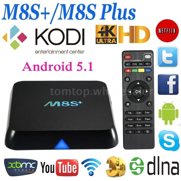 m8s m8s plus 4k quad core android 5 1 smart tv box fully loaded wifi uhd media tvs quad and. Black Bedroom Furniture Sets. Home Design Ideas
