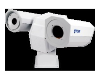FLIR PT-602CZ    The PT-602CZ multi-sensor is equipped with a highly reliable, mid-wave, cooled detector which offers mid- to long range detection in all weather conditions.  The thermal imaging camera offers a continuous optical and electronic zoom. This offers excellent situational awareness while also giving the possibility to zoom in at suspect activities, and have a closer look, once they are detected.