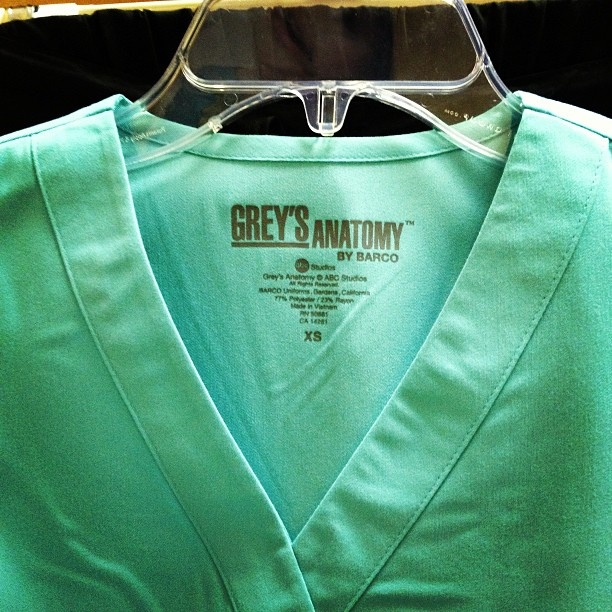 @Kelsi @ Brighter Sides Noeth I know it's a little far off, but I found what I'm getting you for your graduation gift. Grey's Scrubs!