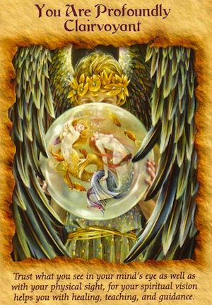 Free Angel Card Reading: You Are Profoundly Clairvoyant...