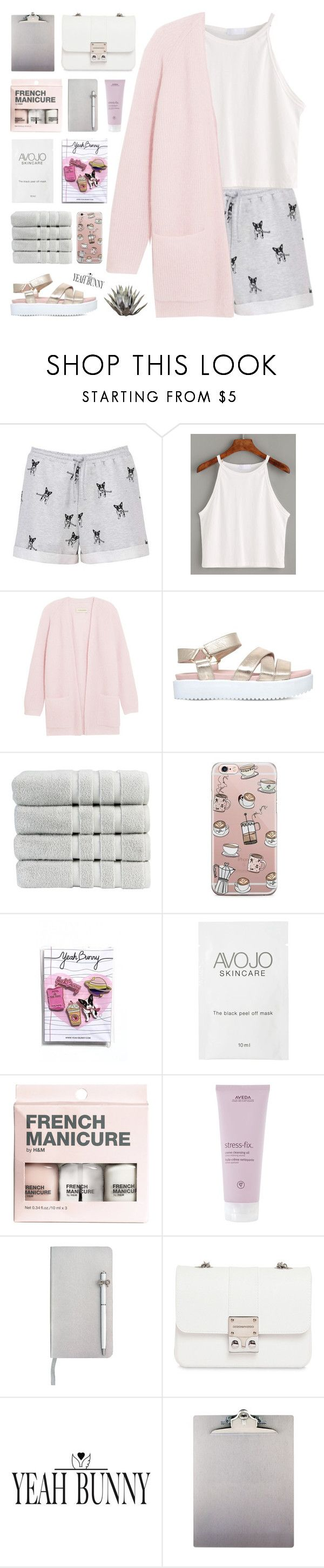 """""""I Woke Up To The Sun Rising & The Lake Glowing - Yeah Bunny"""" by paradiselemonade ❤ liked on Polyvore featuring By Malene Birger, KG Kurt Geiger, Christy, Yeah Bunny, H&M, Aveda, ICE London, Design Inverso, simple and organize"""