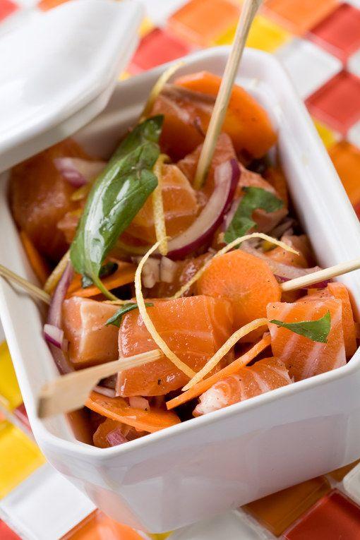 Blinis au saumon fumé et au mascarpone, voir la recette des blinis au saumon fumé et au mascarponeC'est l'heure de l'apéritif ?...
