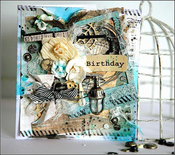 Prima ~ Cartographer ~ birthday card