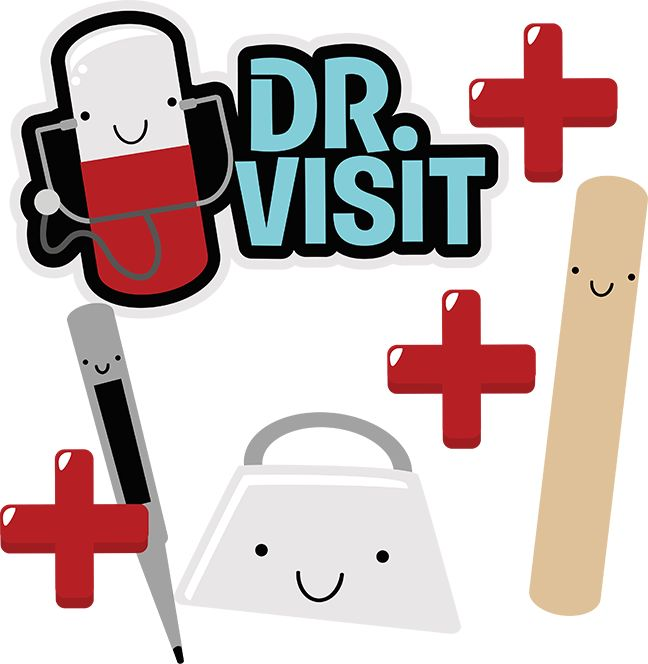 Dr. Visit SVG Scrapbook Collection doctor svg file doctor cut files for scrapbooking cardmaking