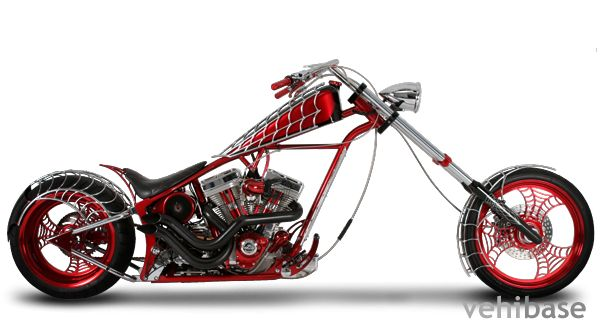 Orange County Choppers - Black Widow (I will always remember this Bike, it was from season 1 episode 1 from the American Chopper TV series, Designed by Paul Jr.)