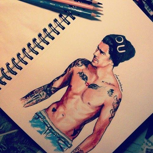 Zayn (drawing) - this is amazing>> *amaZAYN<<<>>>