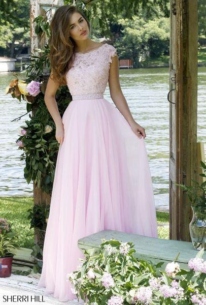 Light Pink Prom Dress 2015  Sherri Hill 2016