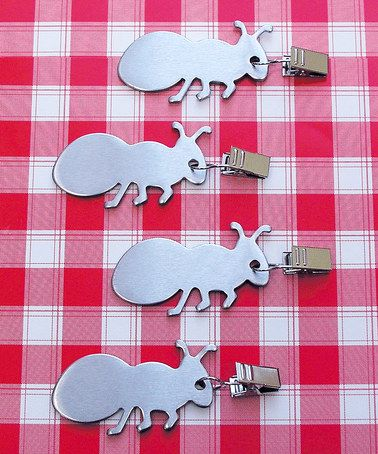 Another great find on #zulily! Ant Tablecloth Clip Weight - Set of Four #zulilyfinds