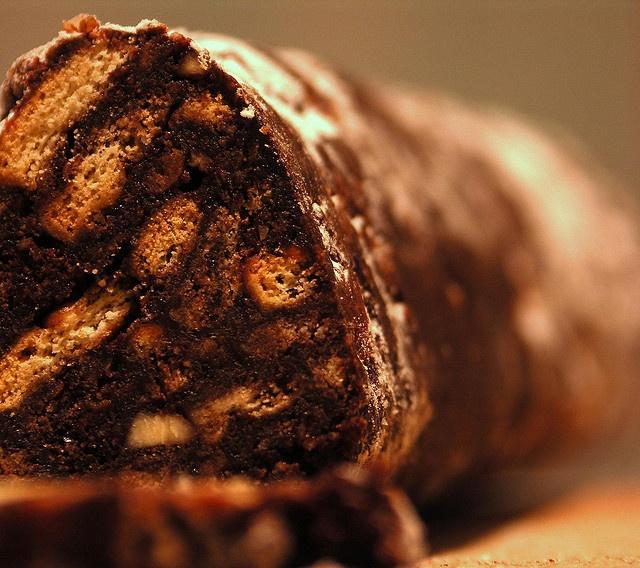 salame di cioccolato #dolci #desserts