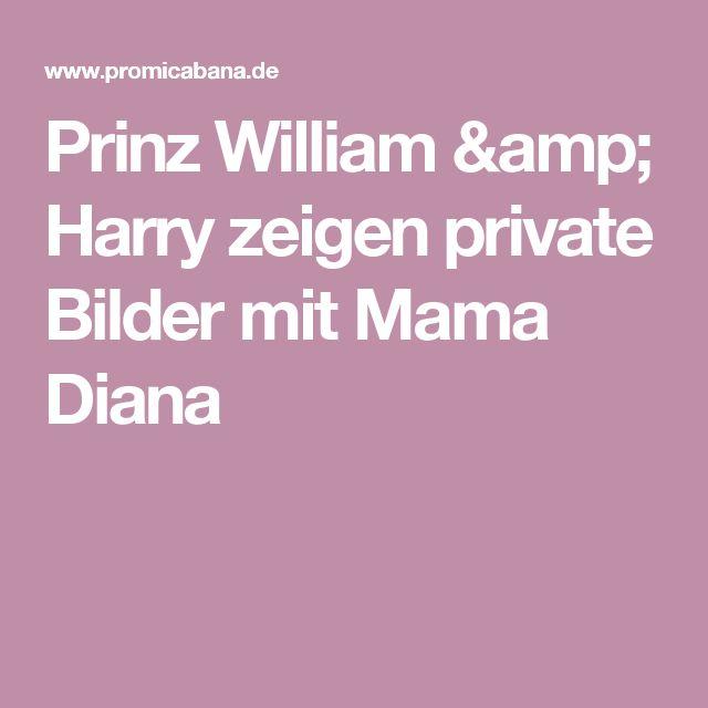 Prinz William & Harry zeigen private Bilder mit Mama Diana