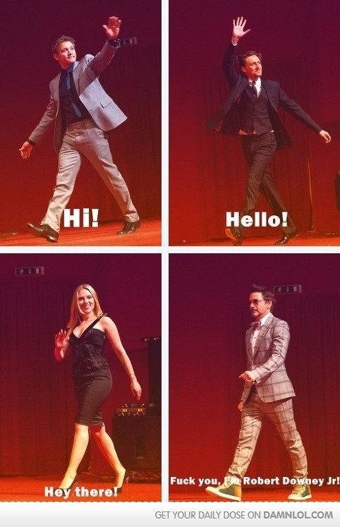 Oh Robert...yup I think it was the same thing at the D23 convention when they were promoting.