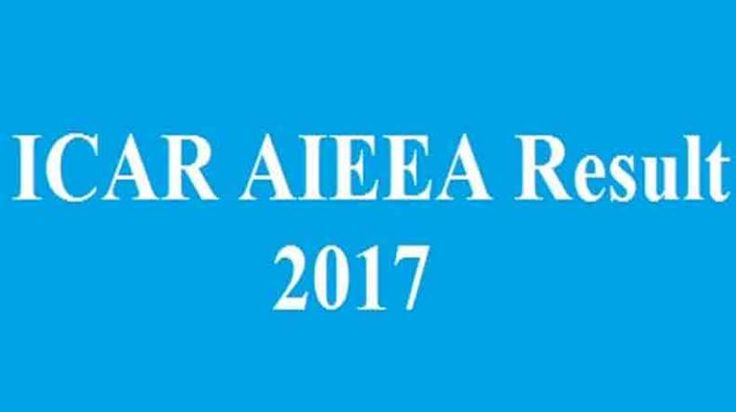 Candidates who have appeared for examination can view their result at official website @ icareexam.net. The Exam for UG programmes was held on June 10 and while for PG and AICE was held on 11 June 2017.   #ICAR AIEEA PG results #ICAR AIEEA results #ICAR AIEEA UG #PG Exam 2017 Results Declared