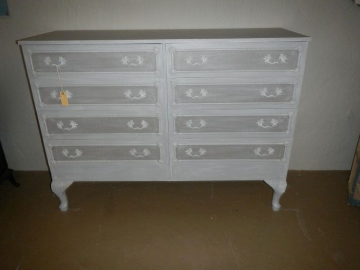 Not often you will see one of theses... A stunning Vintage double chest of Draw R4250