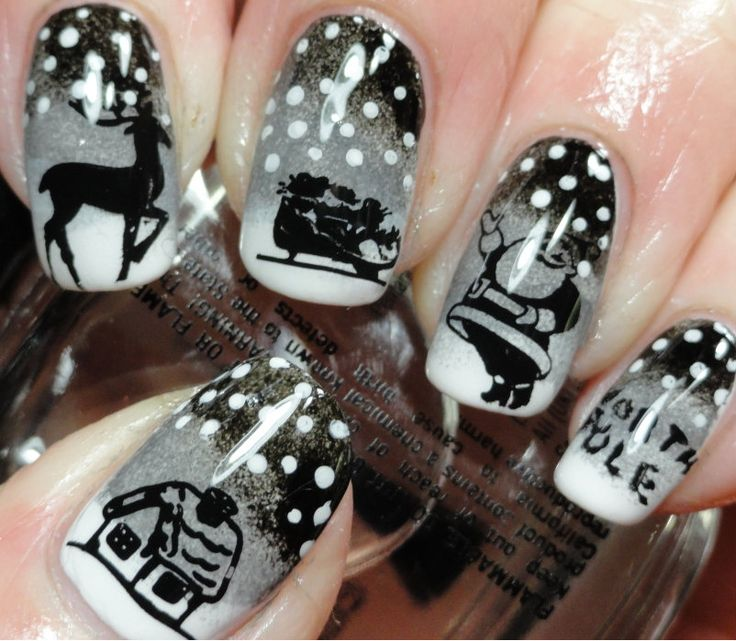 Marvelous Fabulous Winter Nail Art Designs To Look Gorgeous   Ohh My My