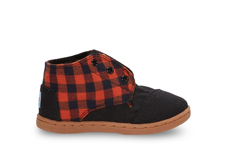 Rouille Flannel Tiny TOMS Paseo Mids