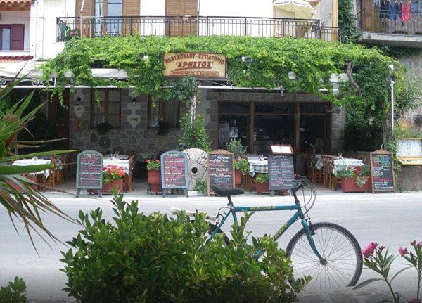 Christos Restaurant, Petra, Lesvos