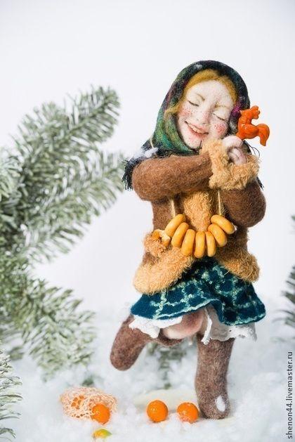 Коллекционные куклы ручной работы. Ярмарка Мастеров - ручная работа Дуняша…