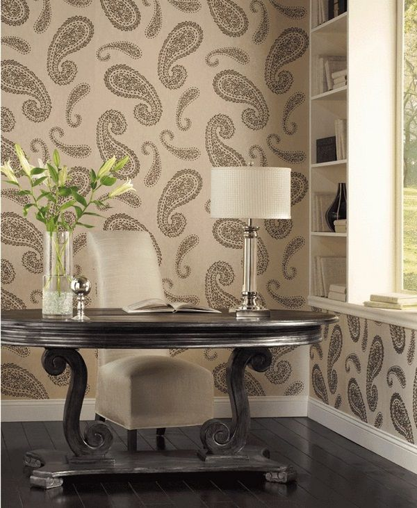 Marvelous I Love Paisley Wallpaper For The Home Pictures
