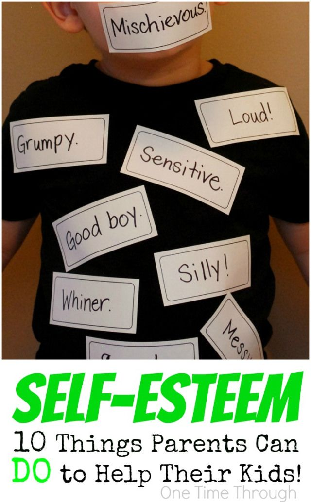 If you want your child to be HAPPY, stick up for themselves, and become who they are truly meant to BE - you HAVE to read this! Healthy Self-Esteem in Kids: 10 Things Parents Can DO to Help! {One Time Through}