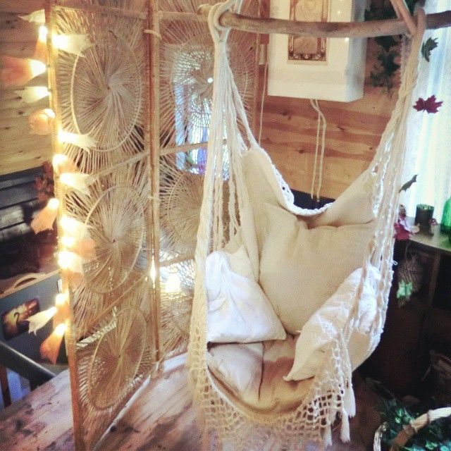 Hanging Hammock Chair With Macrame  Solid Color Swing Best 25 hammock chair ideas on Pinterest