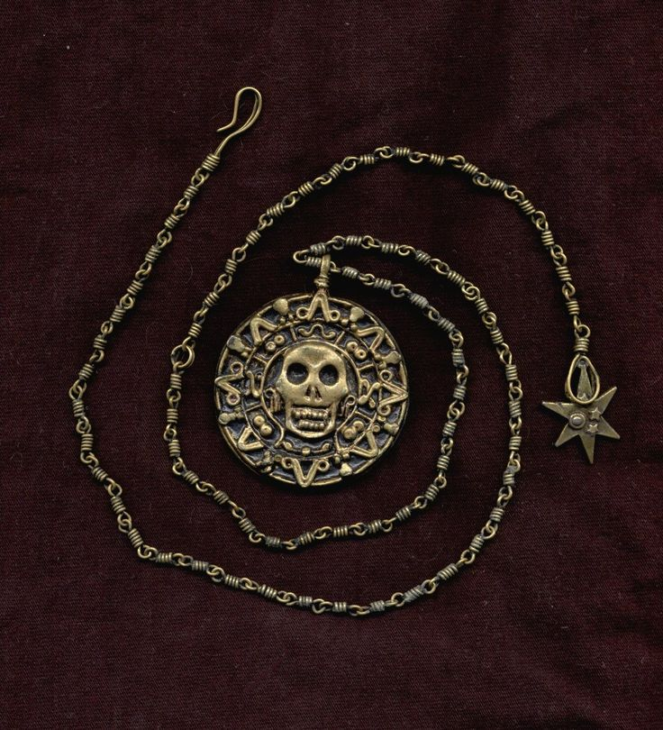 my pirate medallion by agirlnamedshemus on DeviantArt