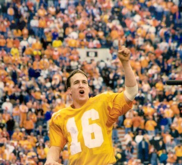 Band director Peyton Manning Peyton manning, Tennessee